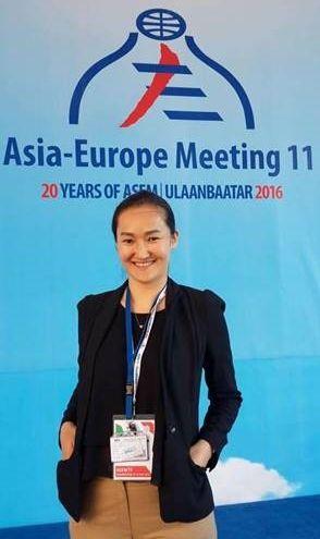 アジア-ヨーロッパミーティング参加時