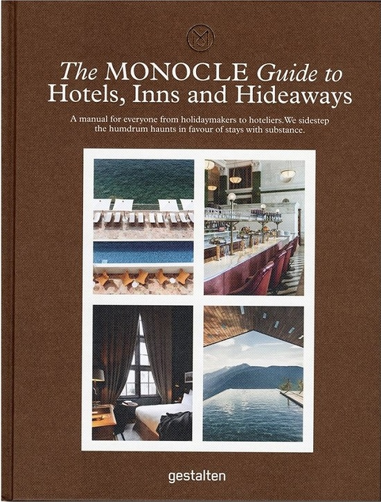 『The MONOCLE Guide to Hotels, Inns and Hideaways』表紙