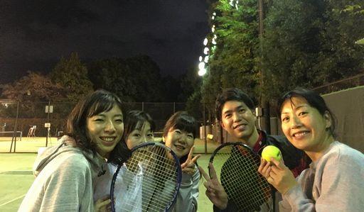 テニスクラブ集合写真!