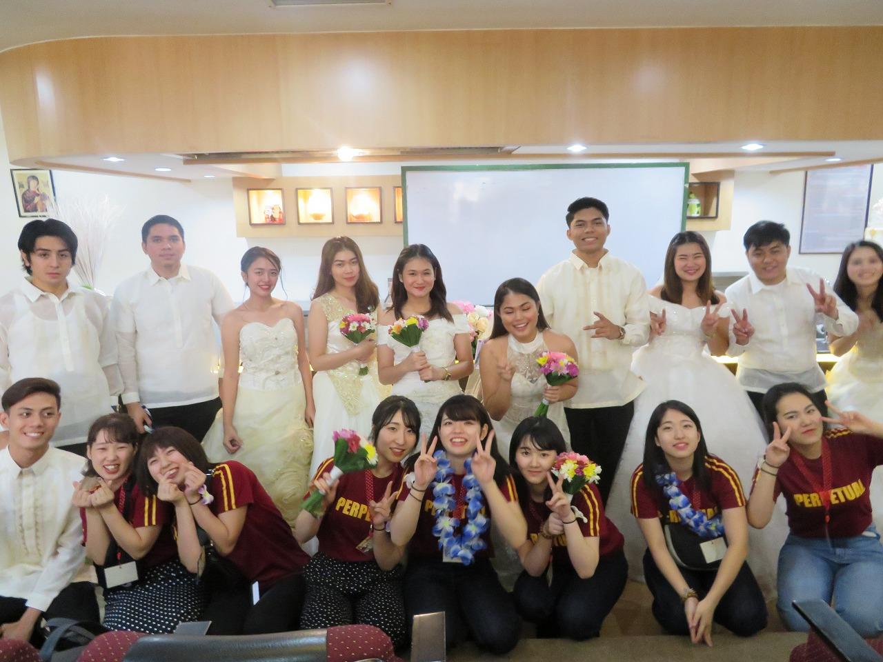 フィリピン模擬挙式を体験