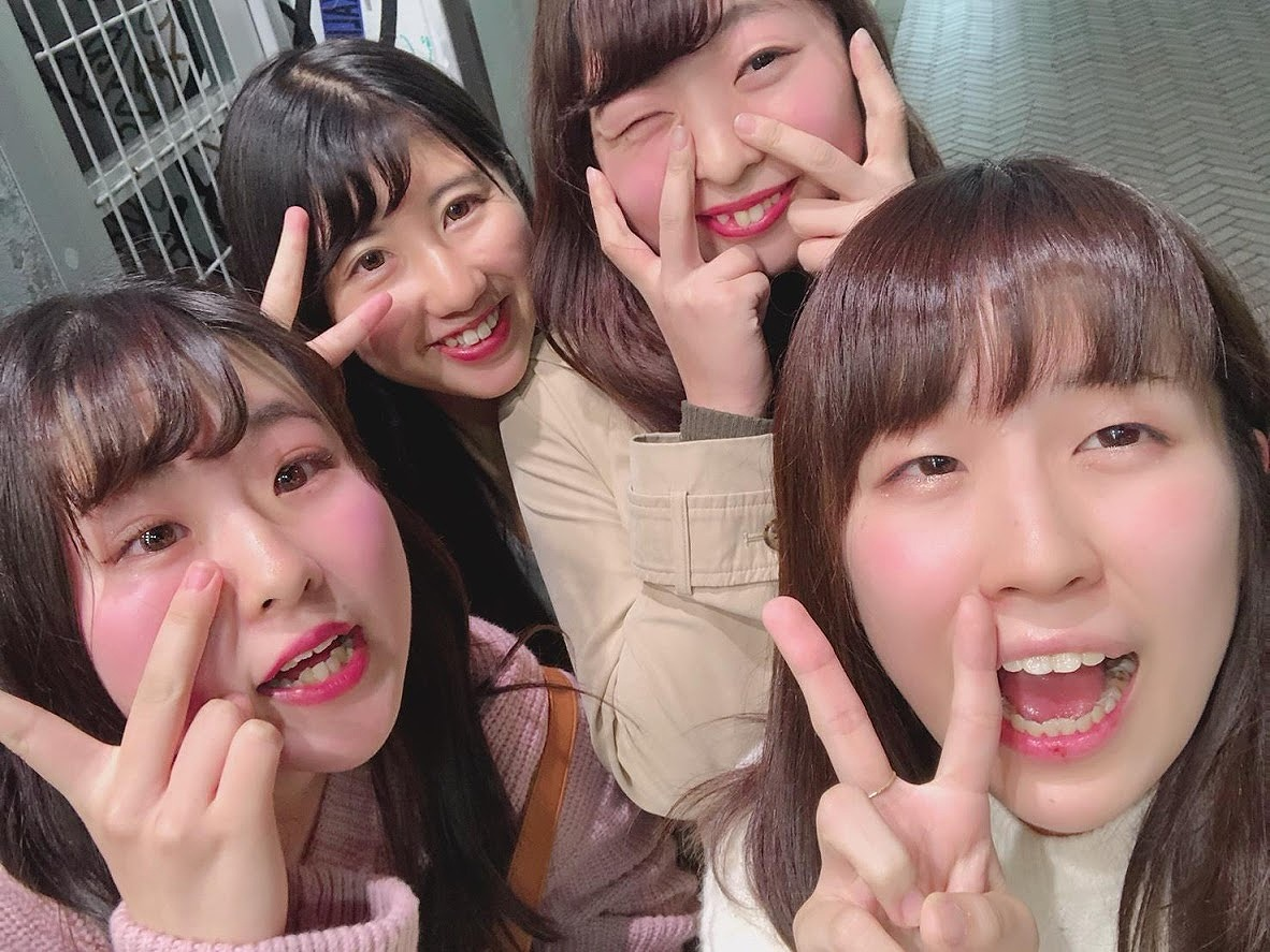 多田さん:クラスメイトと学校終わりに外食です
