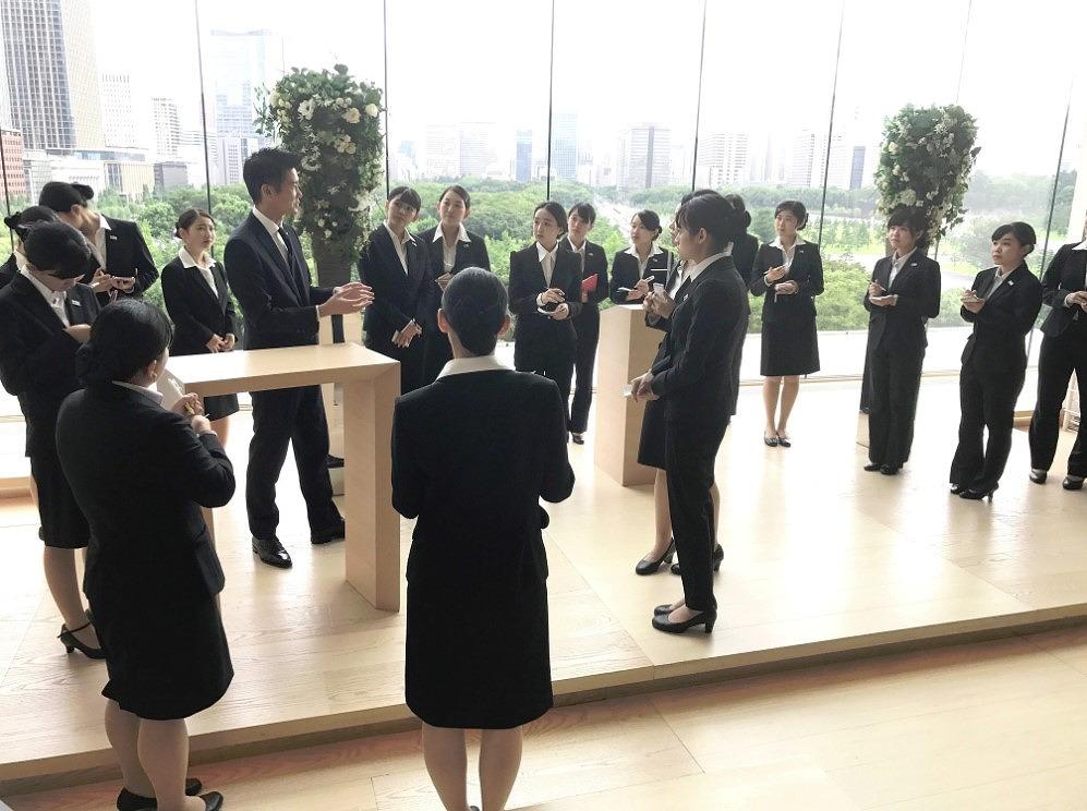 パレスホテル東京のチャペル見学をしました!