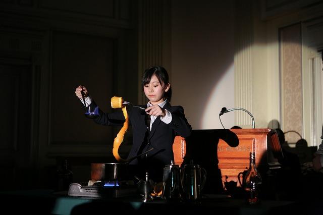 パフォーマンス披露/卒業生の菊池亜美さん