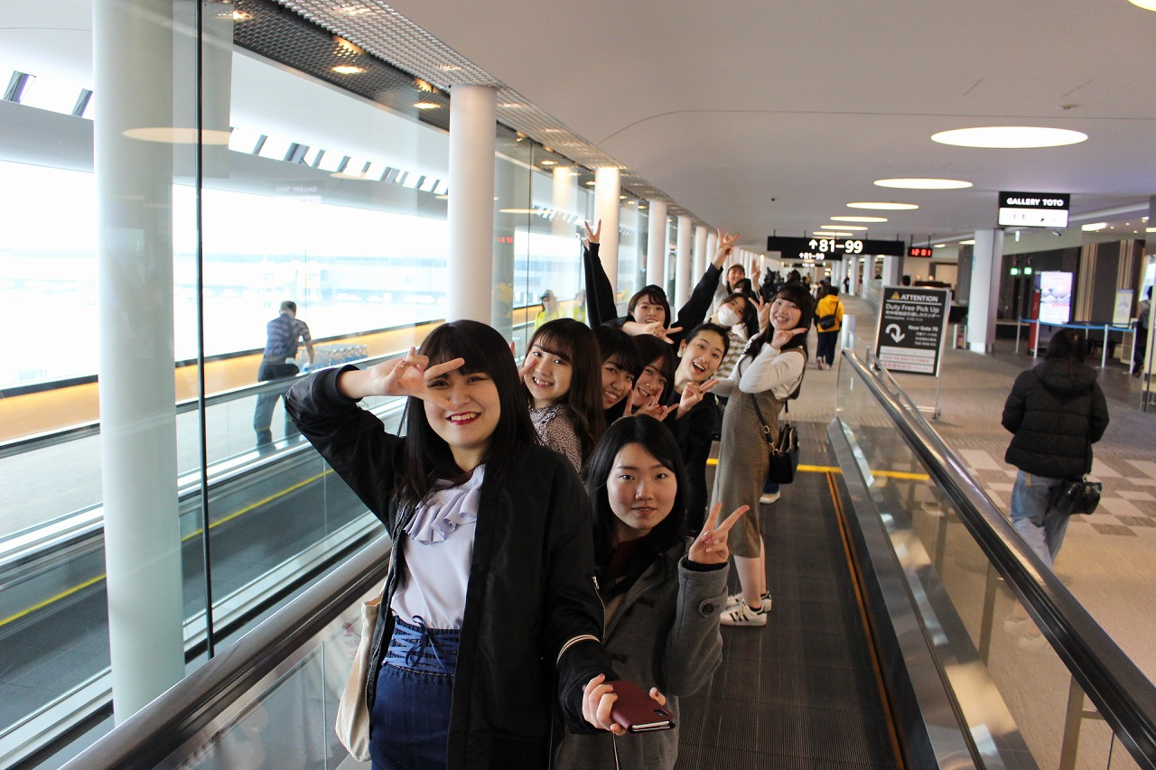 成田空港からいよいよフィリピンへ