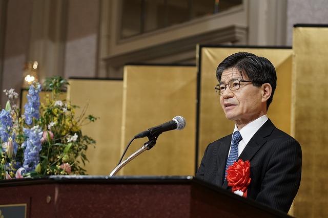 来賓祝辞/一般社団法人日本ホテル協会専務理事福内直之様
