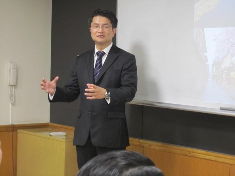 ご自身の経験を踏まえて、(仮称)京都二条プロジェクトに対する情熱を伝える楠井様