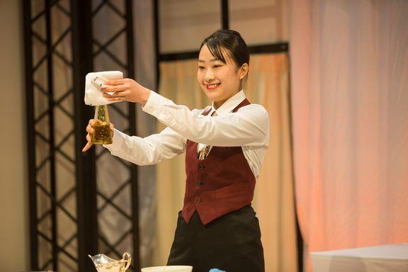 中村友海さん 予選課題 ドレッシング作成