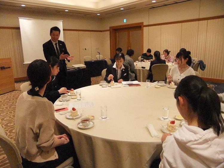 あなたの街で説明会(長野)フリートークでは、教職員、在校生と東京での生活や学校の様子などを話しました