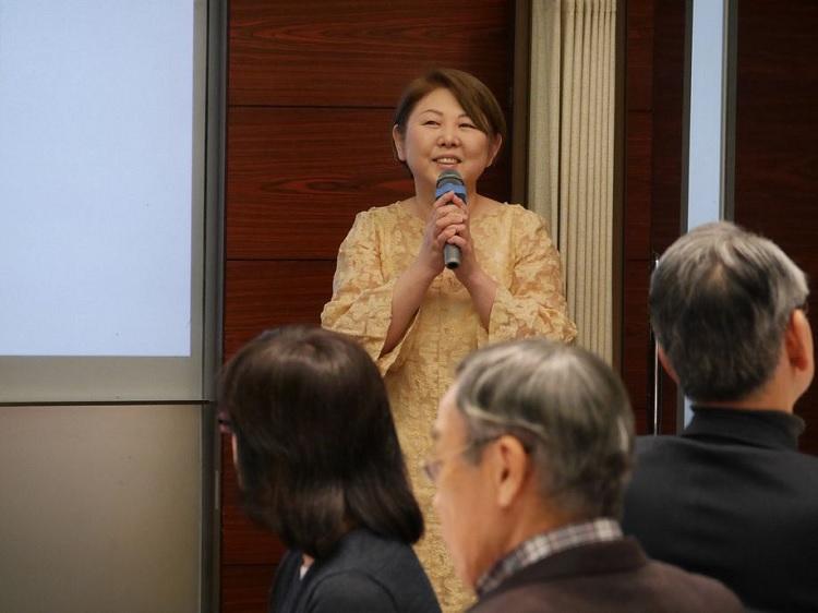 日本酒学講師の会 副代表 入江亮子 先生