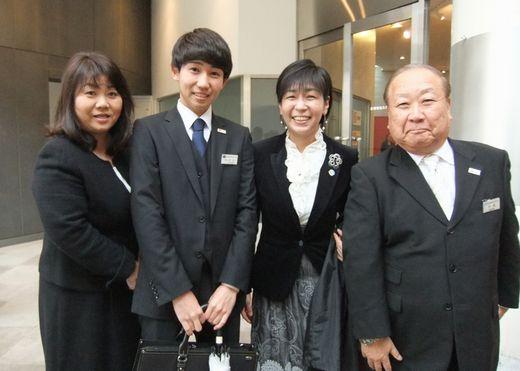 昼間部ホテル科 原品 隼 さん (湘南学院高校〔神奈川県〕出身)
