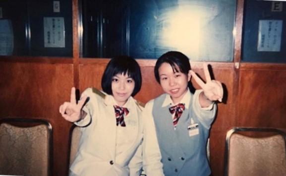 在学中の1年時「東京プリンスホテル」で実習。心が折れて何度泣いたことか