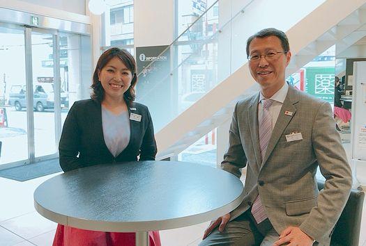 川上先生は広報部長。今は上司として一緒に仕事をする日々なんです