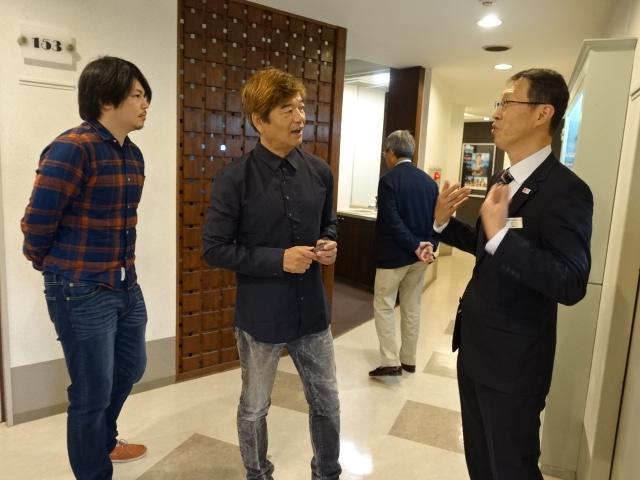 川上先生も、中島先生も話していて楽しかったとのこと
