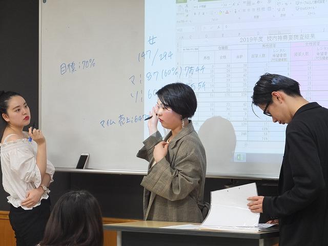 夜間部ブライダル科「卒業式袴展示会」プロジェクト ~その5~  着付け接客シミュレーションの反省と改善
