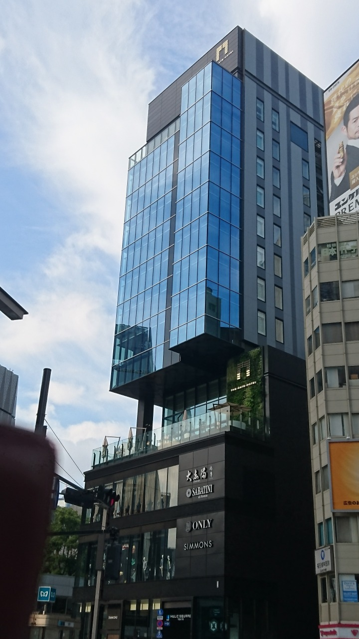朝の「THE GATE HOTEL TOKYO by HULIC」