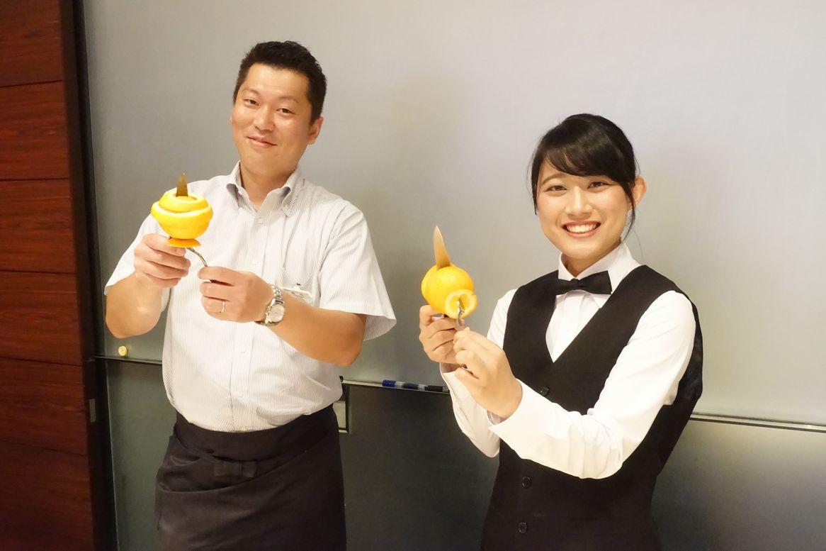 体験◆フルーツカッティングサービス◆