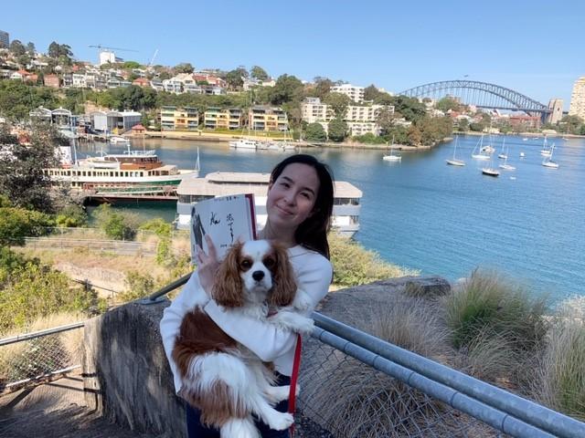 オーストラリアのSatomi  Addison様からも写真が届きました
