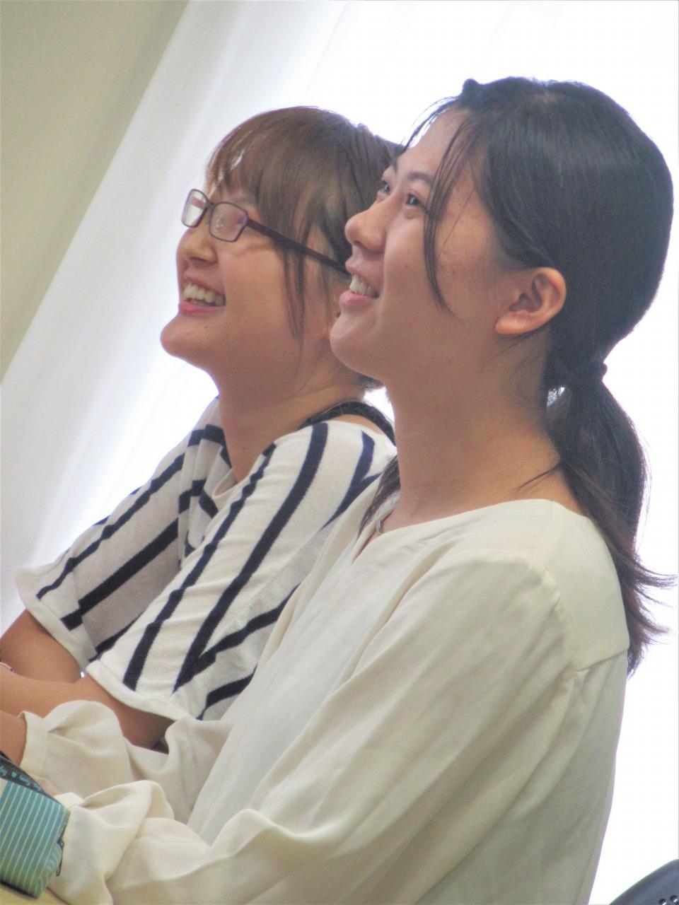 英語専攻科1年の希望者も参加