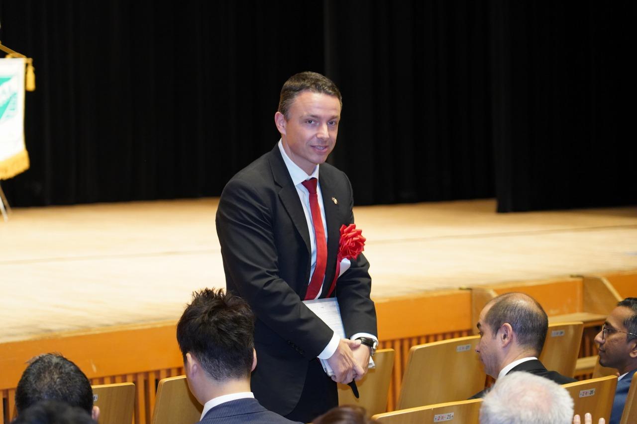 スコールインターナショナル東京 会長ファビアン氏