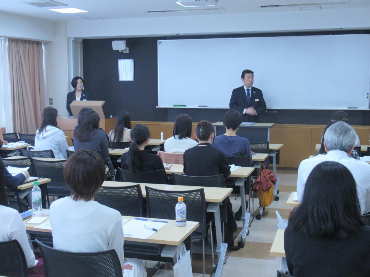 武内 副校長から留学に対する心構えについて
