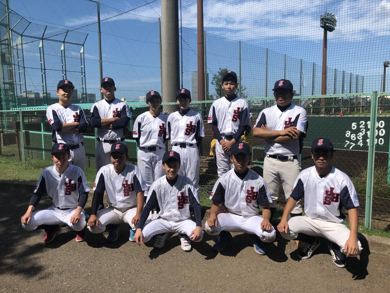 【野球部】2019年度秋季大会終了後に集合写真