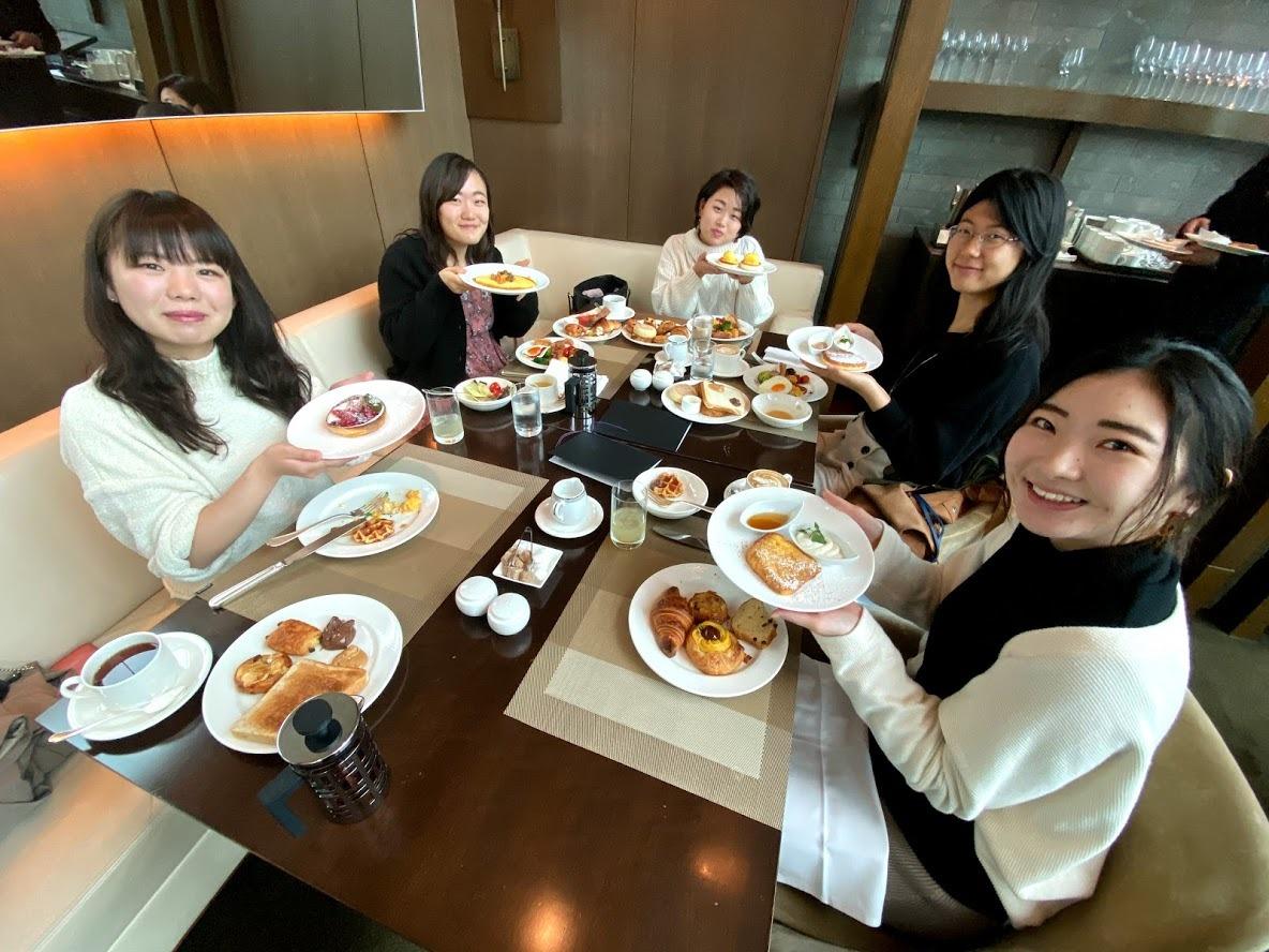 【ホテル&ブライダル研究会】ホテルでの朝食会