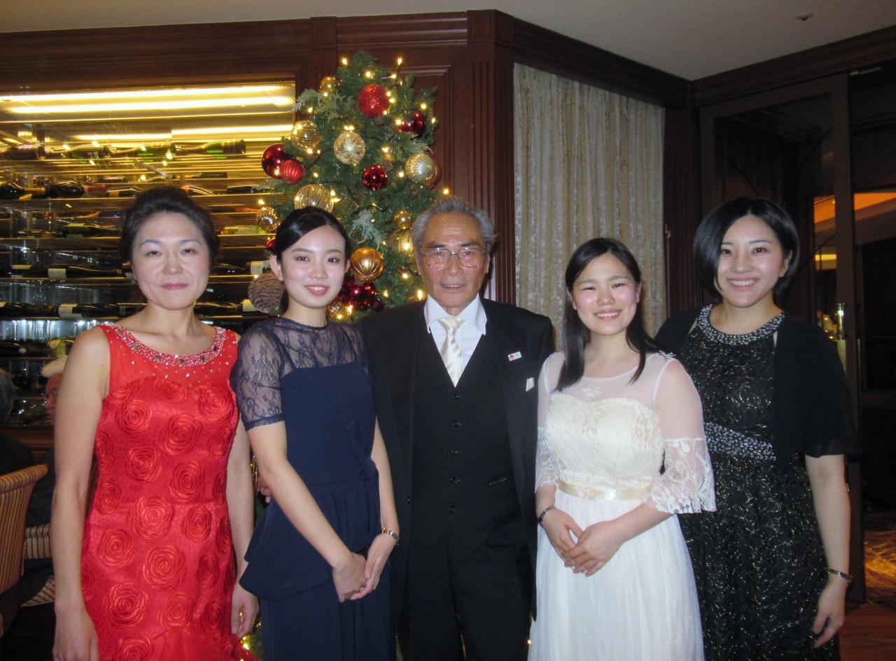江口先生、小久保さん、石塚校長、津田さん、中居先生