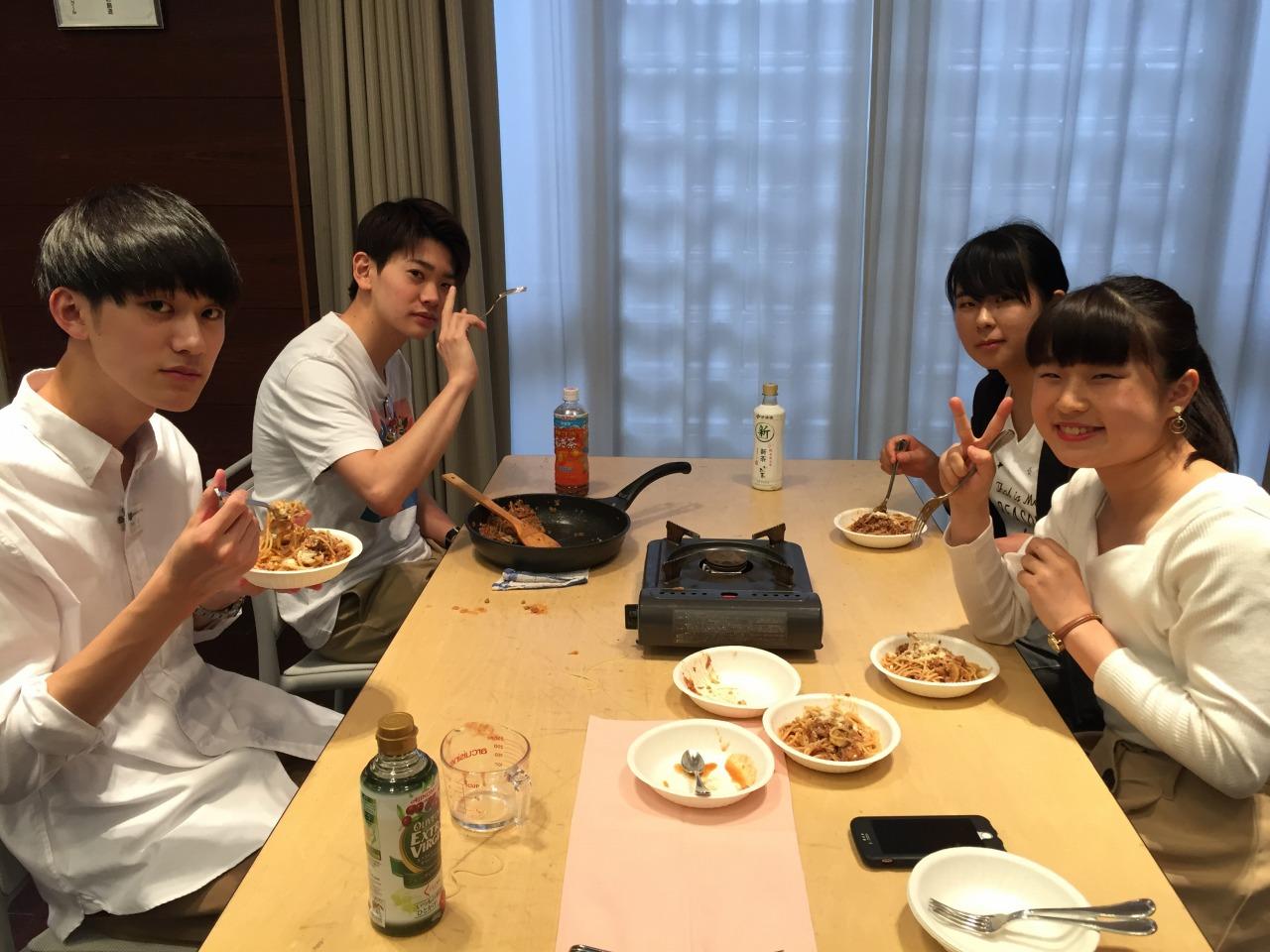 【レストラン研究会】みんなで試食