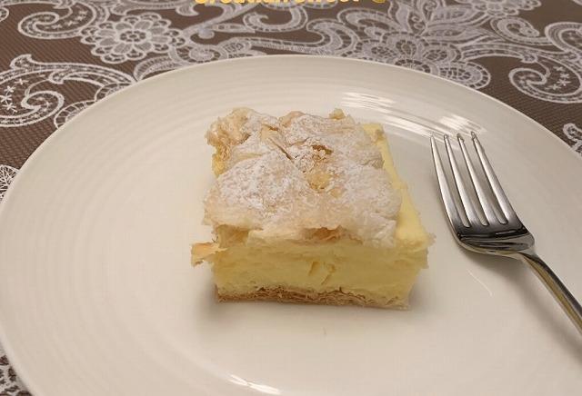 クロアチアのケーキ、クレンピタです!
