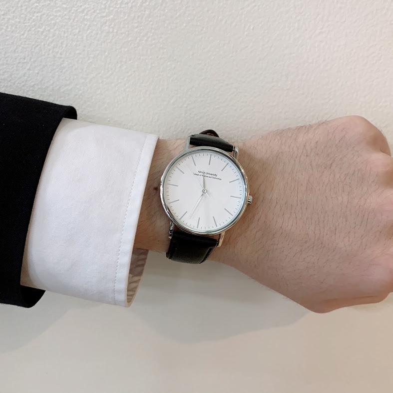 在校生が実際に着用している時計(男性)