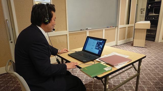 「和食」/無形文化遺産に登録された「和食」について説明する島田先生