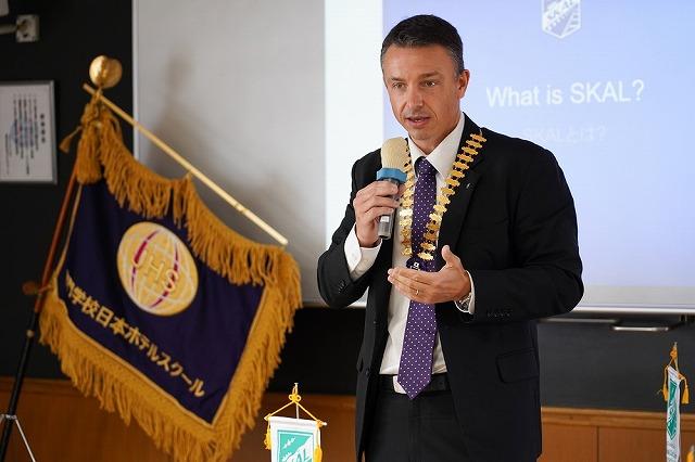 スコールクラブ東京会長/スコールインターナショナル東アジア副会長 ファビアン・クレール氏