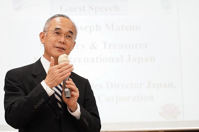 日本スコールクラブ事務局長/ハイアット ホテルズ コーポレーション シニアグローバルディレクタージャパン 松尾ジョセフ氏