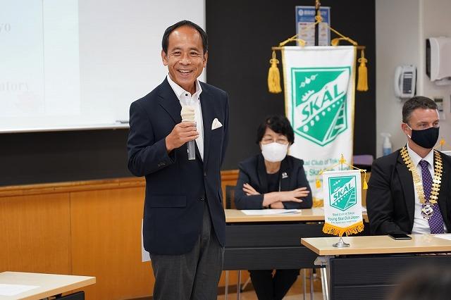 スコールクラブ東京理事/観光レジリエンス研究所代表 高松正人氏