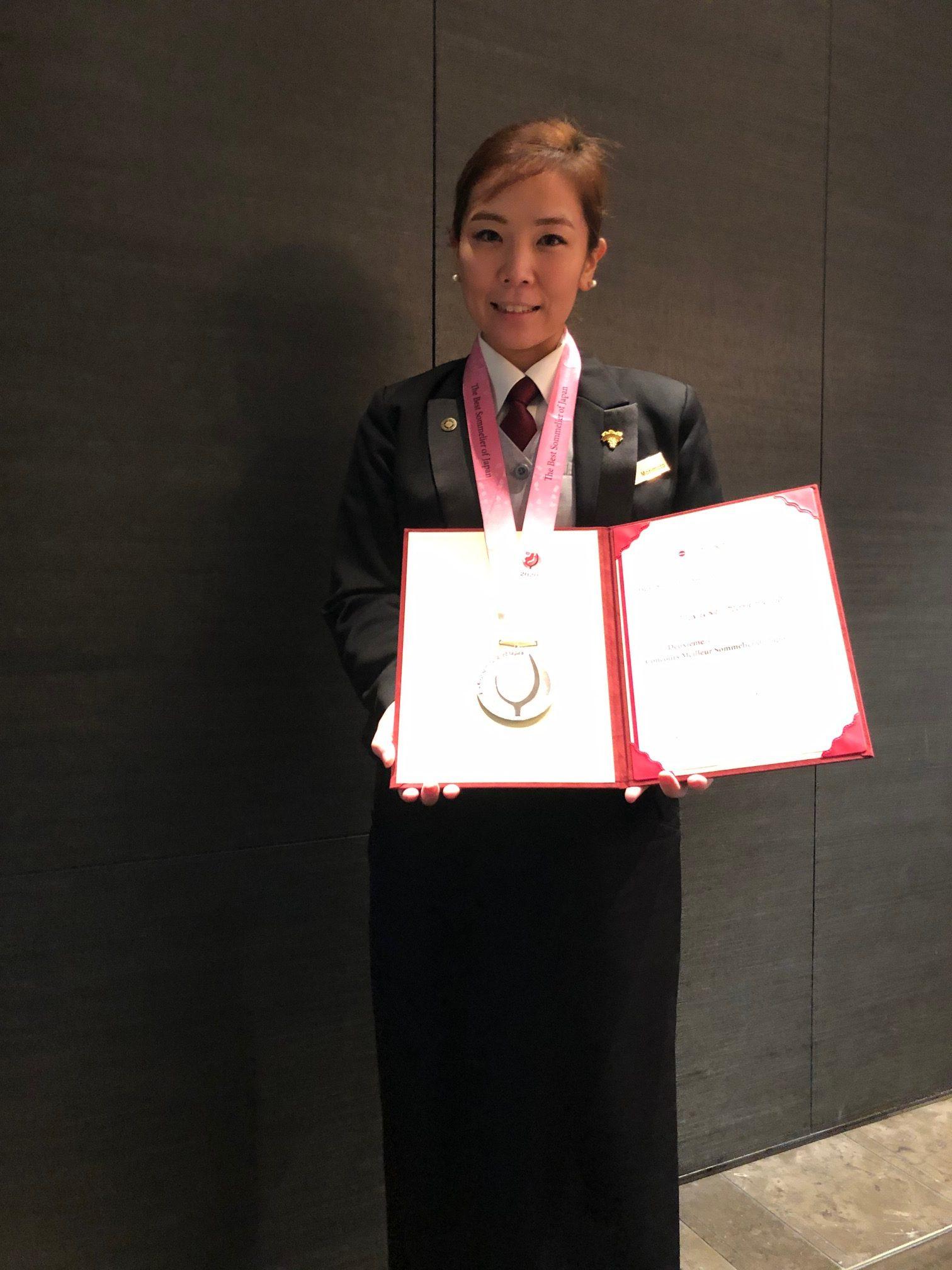 森本 美雪さん(2007年卒:コンラッド東京勤務)インタビューを終えて記念写真