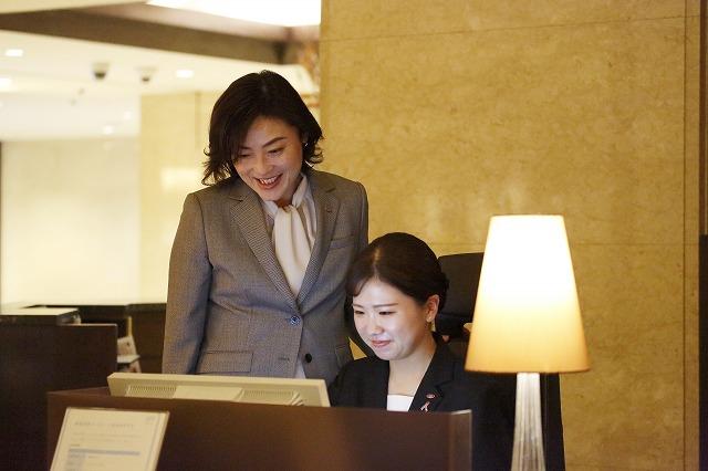 ホテルスタッフとのコミュニケーションも大事にしています