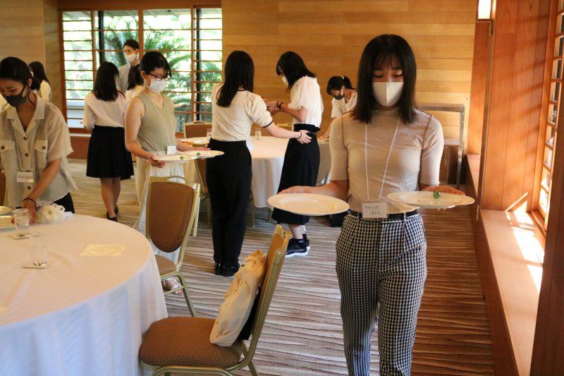 ホテル・ブライダルの仕事を体験『体験授業』