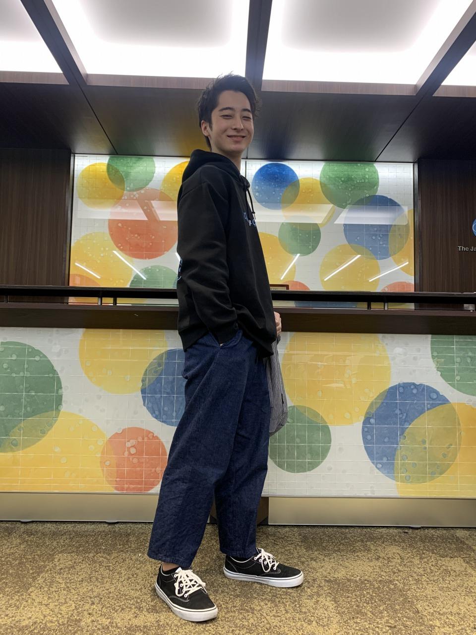 賀曽利くん:通学スタイル