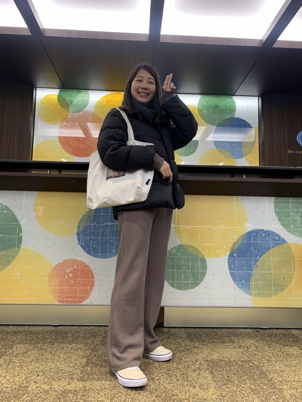 浅子さん:通学スタイル