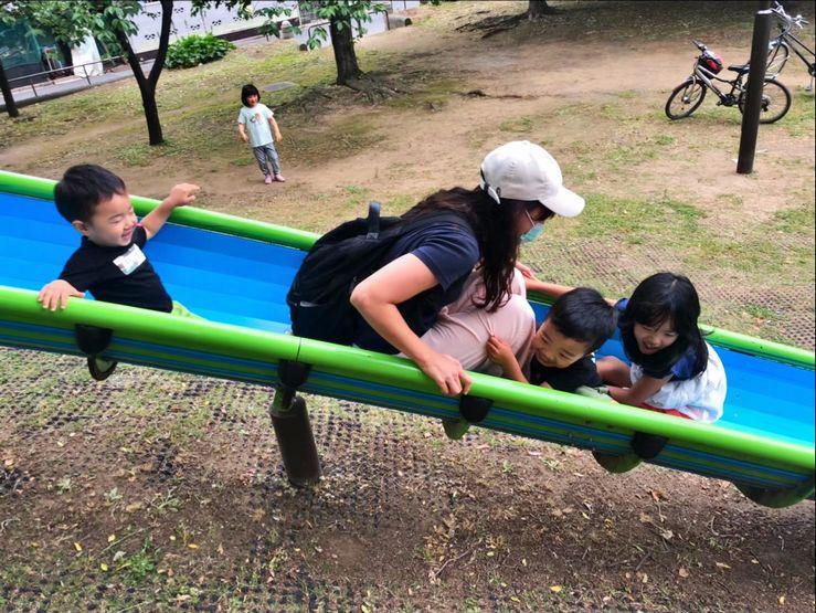 休日は公園にいることが多いです。外遊び大好きです!