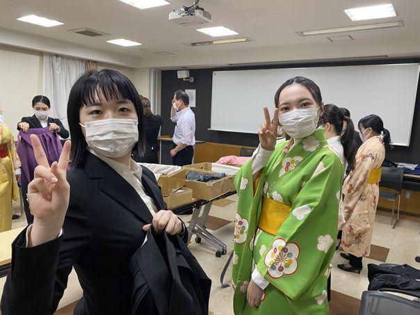 「2021年度卒業式袴展示会」活動報告No.5